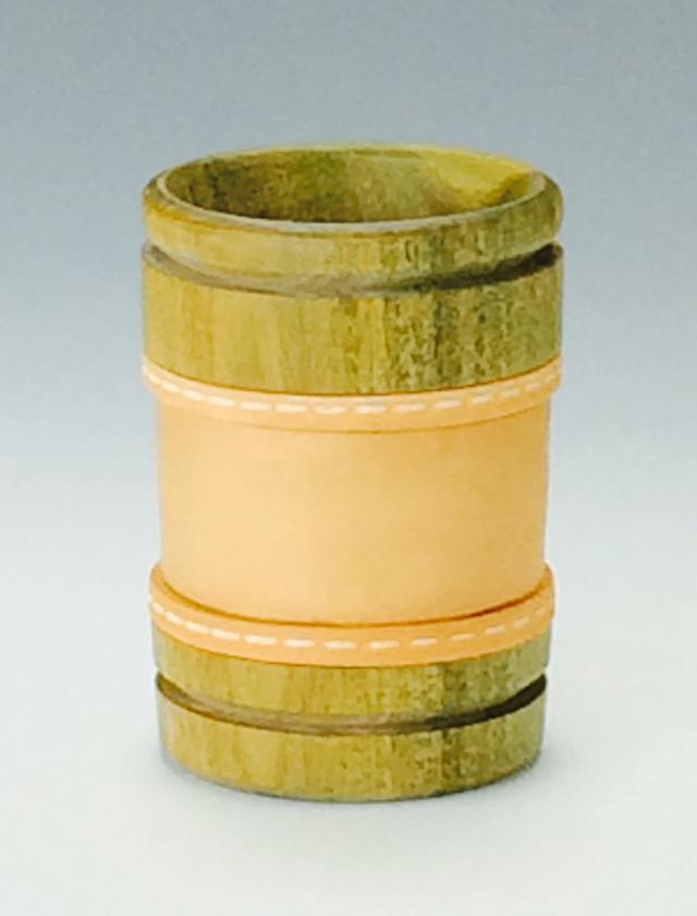マテ壺 パロサント筒型